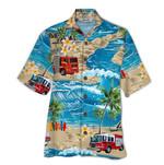 Tropical Summer Aloha Hawaiian Shirt Truck HH-NQ01