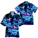 Tropical Summer Aloha Hawaiian Shirt Horse HH-HG290
