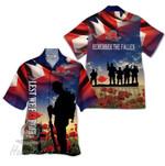 Tropical Summer Aloha Hawaiian Shirt UK Veteran HH-DD73