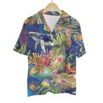 Tropical Summer Aloha Hawaiian Shirt Colorful Animals - The Ocean 2