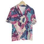 Tropical Summer Aloha Hawaiian Shirt Colorful Animals - Chicken
