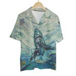 Tropical Summer Aloha Hawaiian Shirt Colorful Animals - The Ocean