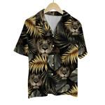 Tropical Summer Aloha Hawaiian Shirt Lion