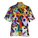 Tropical Summer Aloha Hawaiian Shirt Beagle HD-HG28