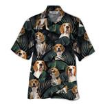 Tropical Summer Aloha Hawaiian Shirt Beagle QL-HG1564