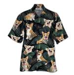 Tropical Summer Aloha Hawaiian Shirt Corgi QL-HG1565