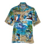 Tropical Summer Aloha Hawaiian Shirt Shark HD-HG31