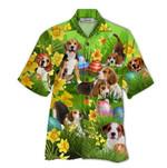 Tropical Summer Aloha Hawaiian Shirt Beagle HD-NQ16