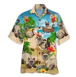 Tropical Summer Aloha Hawaiian Shirt Siamese HD-NQ17