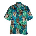 Tropical Summer Aloha Hawaiian Shirt Yorkshire Terrier QL-HG1566