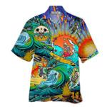 Tropical Summer Aloha Hawaiian Shirt Skull HD-NQ18