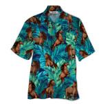 Tropical Summer Aloha Hawaiian Shirt Horse QL-HG1570