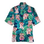 Tropical Summer Aloha Hawaiian Shirt Pig QL-HG1571