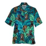 Tropical Summer Aloha Hawaiian Shirt Great Dane QL-HG1572