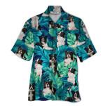 Tropical Summer Aloha Hawaiian Shirt Border Collie QL-HG1574