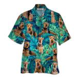 Tropical Summer Aloha Hawaiian Shirt Airedale Terrier QL-HG1567