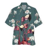 Tropical Summer Aloha Hawaiian Shirt Flamingo HD-NQ22