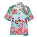 Tropical Summer Aloha Hawaiian Shirt Flamingo HD-NQ20