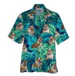 Tropical Summer Aloha Hawaiian Shirt England Bulldog QL-HG1577