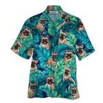Tropical Summer Aloha Hawaiian Shirt France Bulldog QL-HG1578