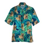 Tropical Summer Aloha Hawaiian Shirt Cairn Terrier QL-HG1579