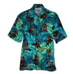 Tropical Summer Aloha Hawaiian Shirt Doberman QL-HG1581