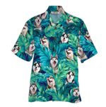Tropical Summer Aloha Hawaiian Shirt Husky QL-HG1583