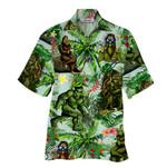 Tropical Summer Aloha Hawaiian Shirt Bigfoot HD-HG32