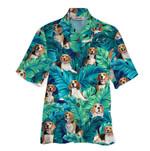 Tropical Summer Aloha Hawaiian Shirt Beagle HD-HG34