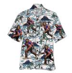 Tropical Summer Aloha Hawaiian Shirt Bigfoot HD-NQ26