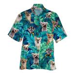Tropical Summer Aloha Hawaiian Shirt Chihuahua HD-HG36