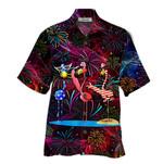 Tropical Summer Aloha Hawaiian Shirt Flamingo HD-HG38