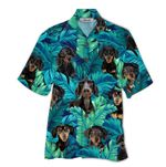 Tropical Summer Aloha Hawaiian Shirt Dachshund HD-NQ27