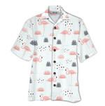 Tropical Summer Aloha Hawaiian Shirt & Short  Flamingo HD-NH02