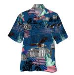 Tropical Summer Aloha Hawaiian Shirt & Short  Patriotic HH-NH01