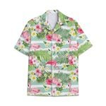 Tropical Summer Aloha Hawaiian Shirt & Short  Flamingo HD-NQ29