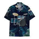 Tropical Summer Aloha Hawaiian Shirt Drum HH-HG320