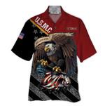 Tropical Summer Aloha Hawaiian Shirt USMC Veteran HD-DD03