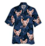 Tropical Summer Aloha Hawaiian Shirt Cat HN-NQ03