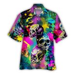 Tropical Summer Aloha Hawaiian Shirt Skull HD-NQ30