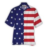 Tropical Summer Aloha Hawaiian Shirt American Flag HD-NQ32