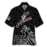 Tropical Summer Aloha Hawaiian Shirt Independence Of America HD-NH06
