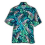 Tropical Summer Aloha Hawaiian Shirt Dolphin HD-NH07