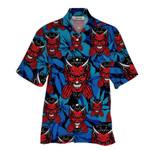 Tropical Summer Aloha Hawaiian Shirt Satan HH-HG322