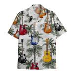 Tropical Summer Aloha Hawaiian Shirt Guitar HH-HG323