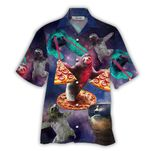 Tropical Summer Aloha Hawaiian Shirt Galaxy Sloth NH-NQ02
