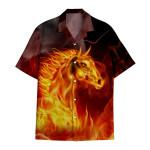 Tropical Summer Aloha Hawaiian Shirt Horse HC-HG01