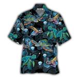 Tropical Summer Aloha Hawaiian Shirt Turtle NH-NH01