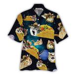 Tropical Summer Aloha Hawaiian Shirt Cat NH-NQ04