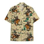 Tropical Summer Aloha Hawaiian Shirt Native American NH-HG01